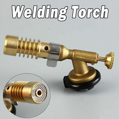Gas Blow Torch Brazing Solder Propane Welding Plumbing Burner Lighter Tools