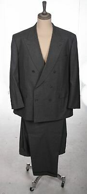 Chester Barrie Double Breasted Grey Saville Row Suit 51C/41W