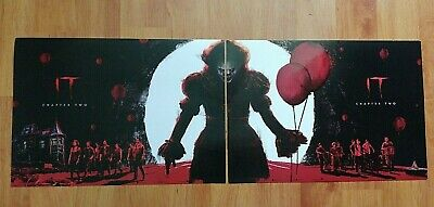 It-Chapter 2 Odeon Cinema Exclusive 2 Part Poster..opening Night/3 Days After