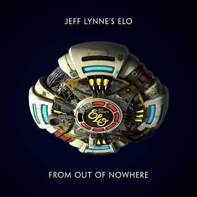 Jeff Lynne's Elo - From Out Of Nowhere Black Lp Mint + Free Uk P&P (Pre-Order)