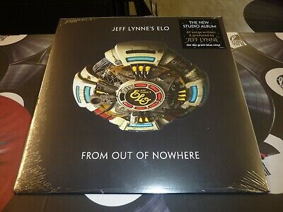 Jeff Lynne's Elo - From Out Of Nowhere Blue Lp Mint + Free Uk P&P (Pre-Order)