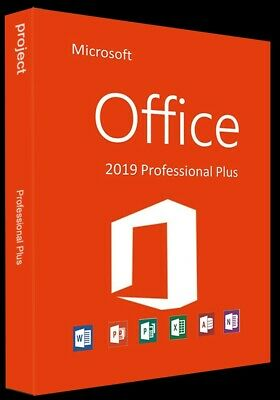 Microsoft Office 2019 Professional Plus  download link and license key