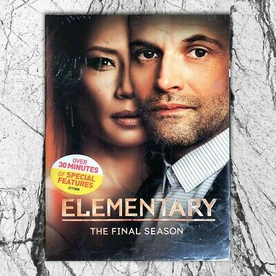 Elementary The Final Season (DVD, 2019, 3-Disc) Fast shippingFirst Class Mail