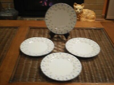 """Johnson Brothers Made In England """"Melody""""  Side Plates - Set Of 4"""