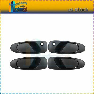 FOR 2006-10 HONDA CIVIC New Smooth Black Outside Exterior Door Handle LH REAR
