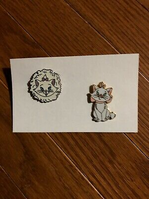 (2) Disney Trading Pins - Marie From The Aristocats