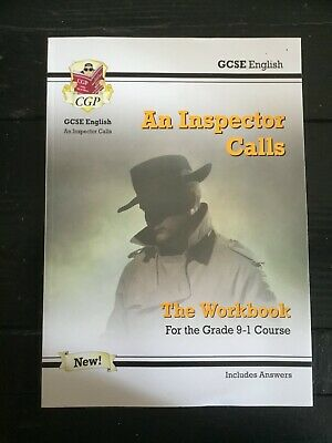 AN  INSPECTOR  CALLS  by  J B Priestley - THE WORKBOOK FOR THE GRADE 9-1 COURSE
