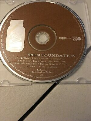 Zac Brown Band CD, The Foundation, 2008 Home Grown Music, Tested