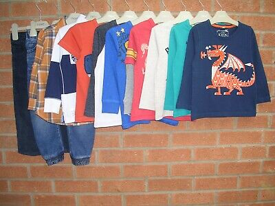 NEXT M&S GAP etc Boys Bundle Jeans Tops Joggers Jumpers Age 2-3 98cm