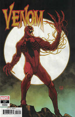 Venom #17 1:25 Dave Johnson Codex Variant Marvel 2018 Eddie Brock Carnage