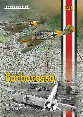 EDUARD 11127 Operation Barbarossa (Bf109E & Bf109F-2) Dual Combo in 1:48