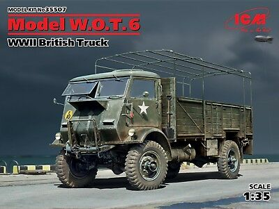 ICM 35507 WWII British Truck Model W.O.T.6 (100% New Molds) in 1:35