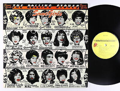 Rolling Stones - Some Girls LP - Rolling Stones All Faces VG+