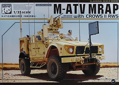PANDA PH35007 M-ATV MRAP w/Crows II RWS in 1:35