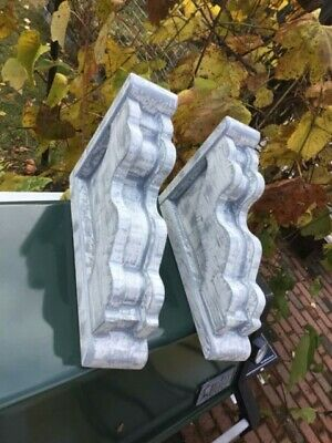 vintage rustic victorain wood Corbels set of 2  reclaimed wood Maine