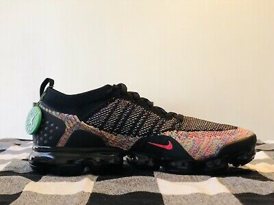 Nike Vapormax Flyknit 2 Men's Running Shoes Multi Color 942842-017 NEW Size 12.5