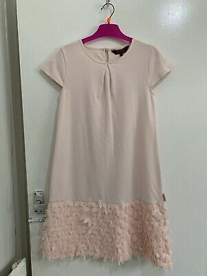 Gorgeous Girls Ted Baker Pink  Party Dress Age 12-13