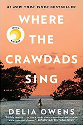 Where The Crawdads Sing  by Delia Owens (P-D-F) 🔥FAST DELIVERY 🔥