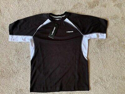 PRINCE Mens White Backhand AeroTech Tennis T-Shirt XXL 2XL BNWT