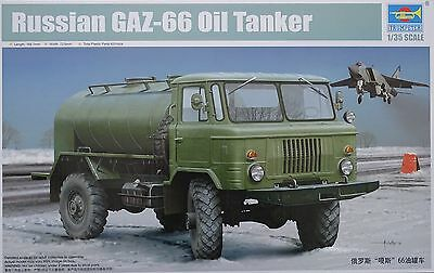 TRUMPETER® 01018 Russian GAZ-66 Oil Truck in 1:35
