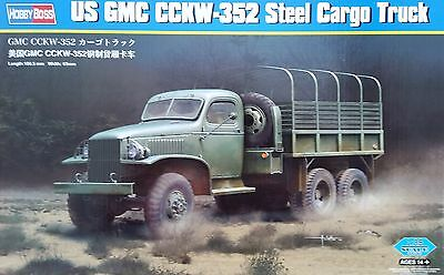 HOBBYBOSS® 83831 US GMC CCKW-352 Steel Cargo Truck in 1:35