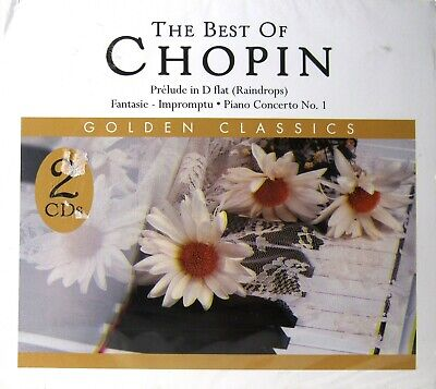 THE BEST OF CHOPIN (CD, 2 Disc Set) >NEW< by Various Artists