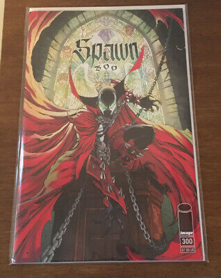 Spawn #300 Cover G Variant J Scott Campbell  Image 2019