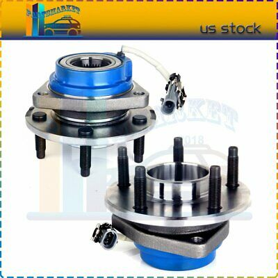 Set Of 2 Front Wheel Hub Bearing Assembly For Chevy GMC Buick Cadillac W/ABS