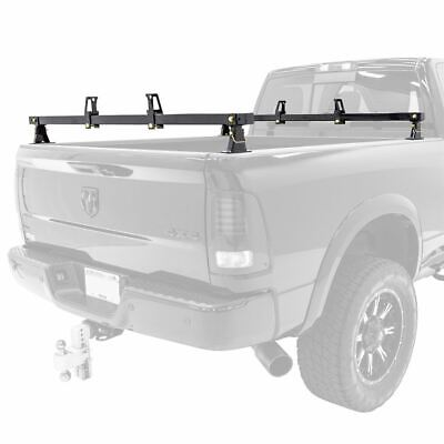Apex Universal Steel Truck Bed Rear Bar – Set of Two
