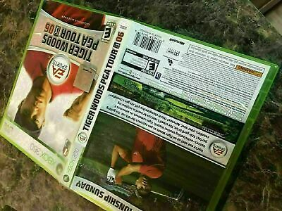 Tiger Woods Pga Tour 06 2006 - Xbox 360 - Game Case Only No Disc