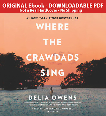 Where the Crawdads Sing By Delia Owens 2018 Best Seller