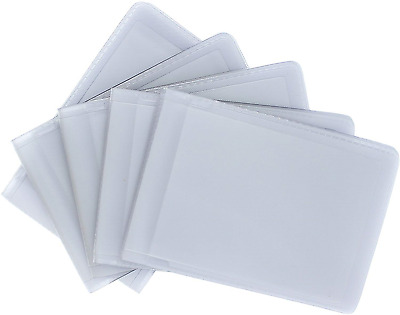 Pack of 5 Replacement Plastic Credit Card Insert Sleeves 5016 Landscape