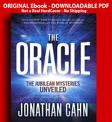 The Oracle: The Jubilean Mysteries Unveiled by Jonathan Cahn (2019, Hardcover)