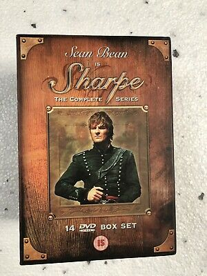 Sharpe: The Complete Series DVD (2005) Sean Bean Clegg