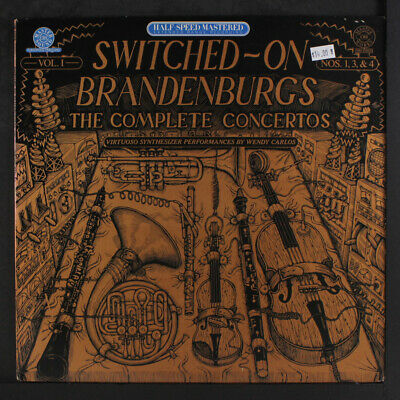 WENDY CARLOS: Switched On Brandenburgs Vol. 1 LP (audiophile press, sm toc, cor