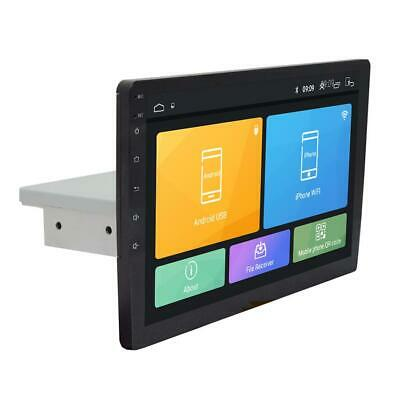 """1 Din Android 8.1 Car Stereo Radio HD 10.1"""" Touch Screen GPS Wifi BT Mirror Link"""