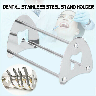 1 X Stainless Steel Orthodontic Pliers Stand Rack Orthodontic Lab Pliers Holder