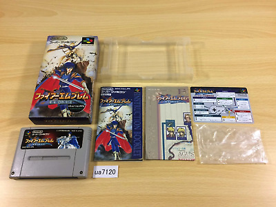 ua7120 Fire Emblem Seisen no Keifu BOXED SNES Super Famicom Japan