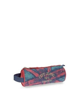 Pepe Jeans - Trousse Anette Pepe Jeans ref_ser41463 rose et bleu - Neuf