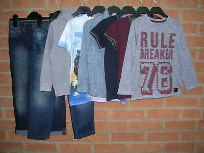 NEXT NIKE MINI CLUB etc Boys Bundle Jeans Jumpers Tops Jacket Age 5-6 116cm