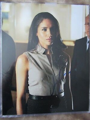 Meghan Markle Hand Signed Photograph HRH The Duchess of Sussex