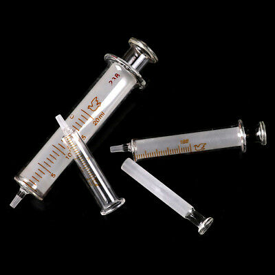 Glass syringe injector sampler dispensing For ink chemical medicine _sh