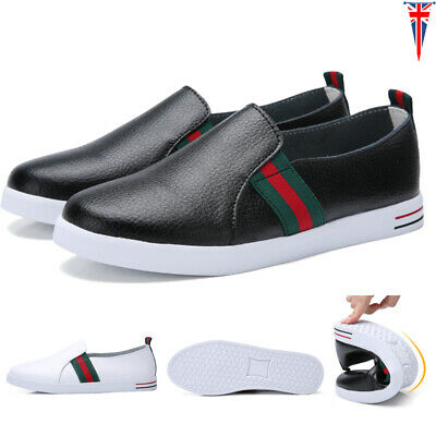Women Ladies Slip On Loafers Flat Pumps Boat Shoes Moccasin Lazy Casual Comfy UK