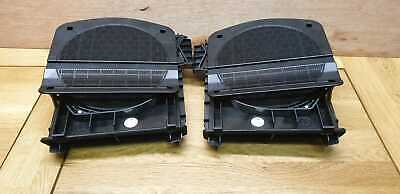 Genuine Bmw F10 F11 Front Right & Left Subwoofer Speakers X2 Pair 919519902