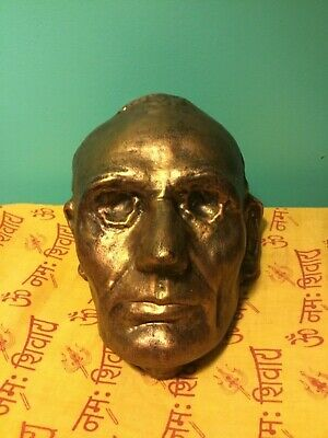 Abraham Lincoln Bronzed Plater Life Mask