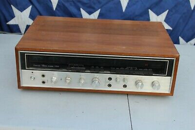 Vintage Sansui 5500 AM/FM Stereo Receiver Audiophile Collectable Audio