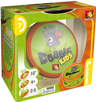 Dobble Kids | Dobble Card Game | Spot It | Best Selling Card Game | Asmodee