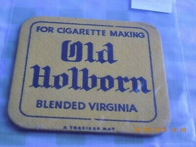 Old Beermat Old Holborn Tobacco Cat ??? (1909P56) A