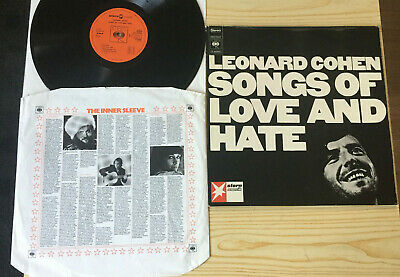 Leonard Cohen # Songs Of Love And Hate # CBS-Stern-Musik S 64 090 # 1971