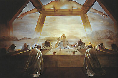 272103 Salvador Dali The Sacrament of the Last Supper POSTER PRINT DECOR AU